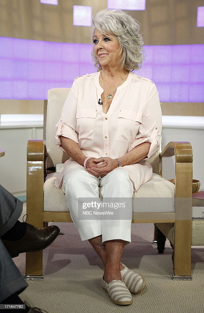 Paula Deen appears on NBC News' 'Today' show --