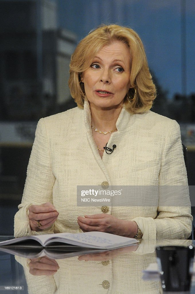 – Peggy Noonan, Columnist, The Wall Street Journal, appears on 'Meet the Press' in Washington, D.C., Sunday, March 31, 2013.