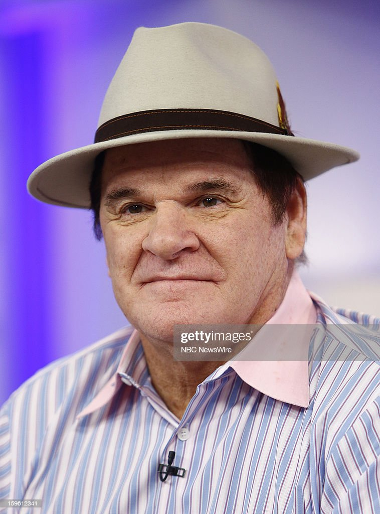 Pete Rose appears on NBC News' 'Today' show --