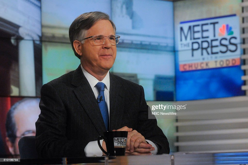 Pete Williams, NBC News, appears on 'Meet the Press' in Washington, D.C., Sunday Feb. 14, 2016.