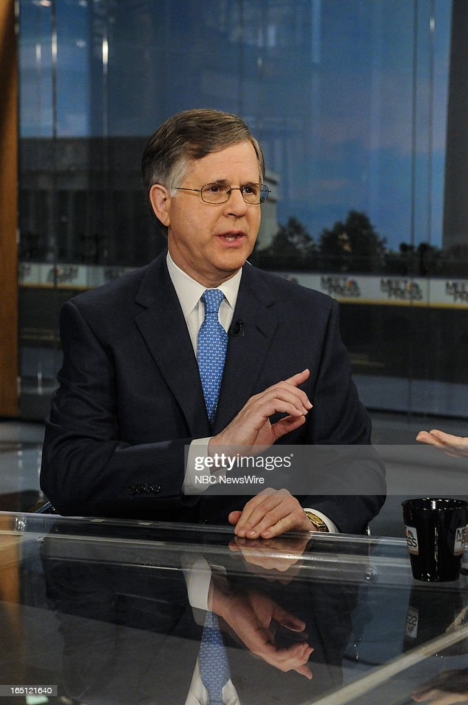 – Pete Williams, NBC News Justice Correspondent, appears on 'Meet the Press' in Washington, D.C., Sunday, March 31, 2013.