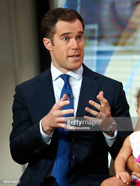 Peter Alexander appears on NBC News' 'Today' show
