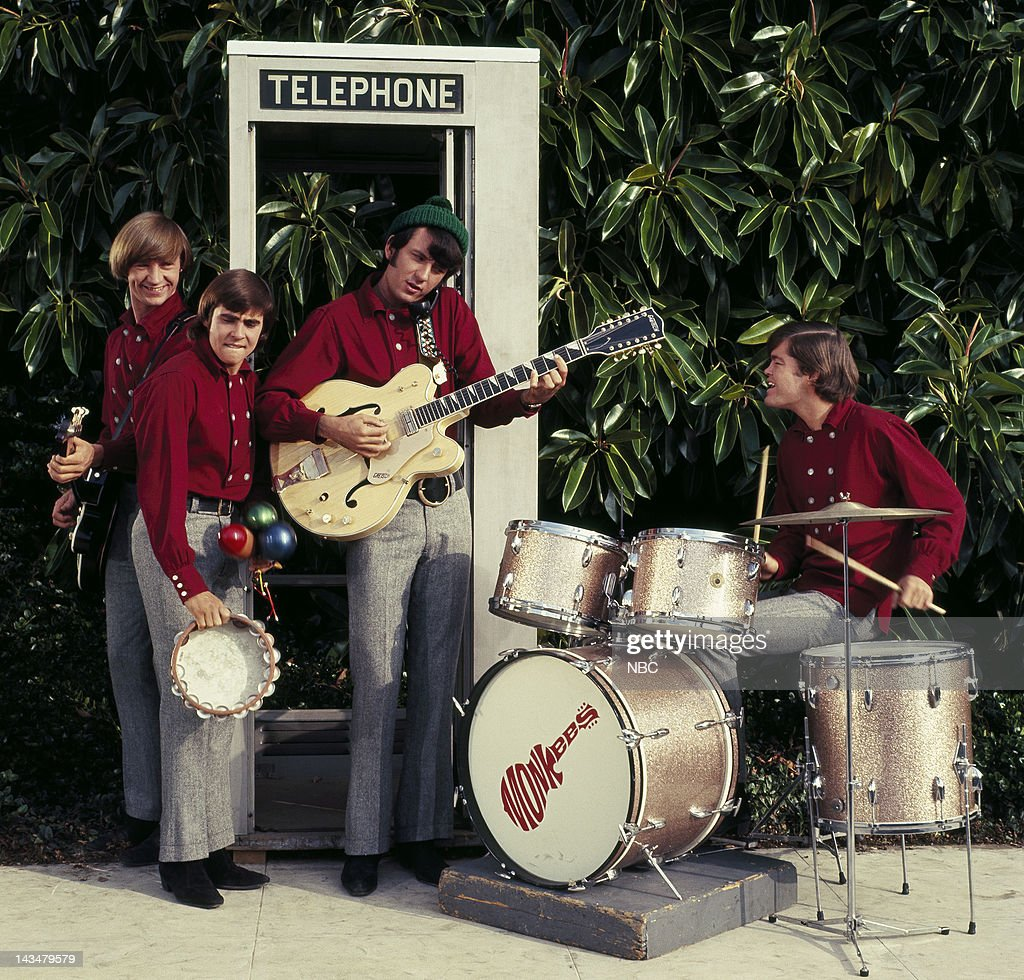 Peter Tork as Peter, Davy Jones as Davy, Mike Nesmith as Mike, Micky Dolenz as Micky
