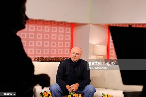 Phil Collins appears on NBC News' 'Today' show