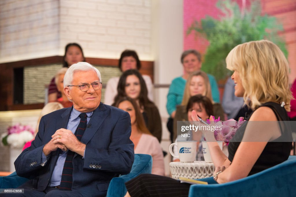 "NBC's ""Megyn Kelly TODAY"" with guests Juliet Huddy, Phil Donahue"