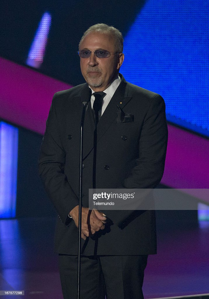 Presenter Emilio Estefan for the 2013 Billboard Latin Music Awards, from Miami held at the BankUnited Center, University of Miami in Miami, Florida on April 25, 2013 --