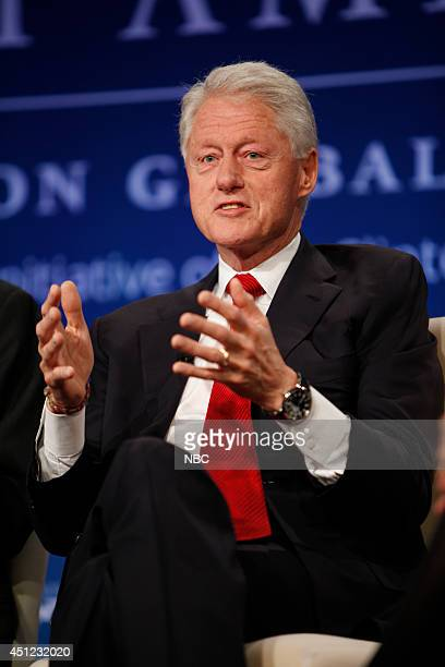 President Bill Clinton appears at the 2014 CGI America meeting in Denver