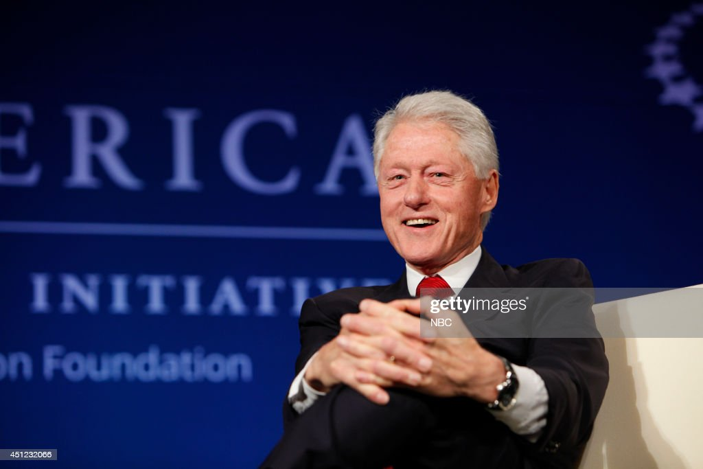 President Bill Clinton appears at the 2014 CGI America meeting in Denver --