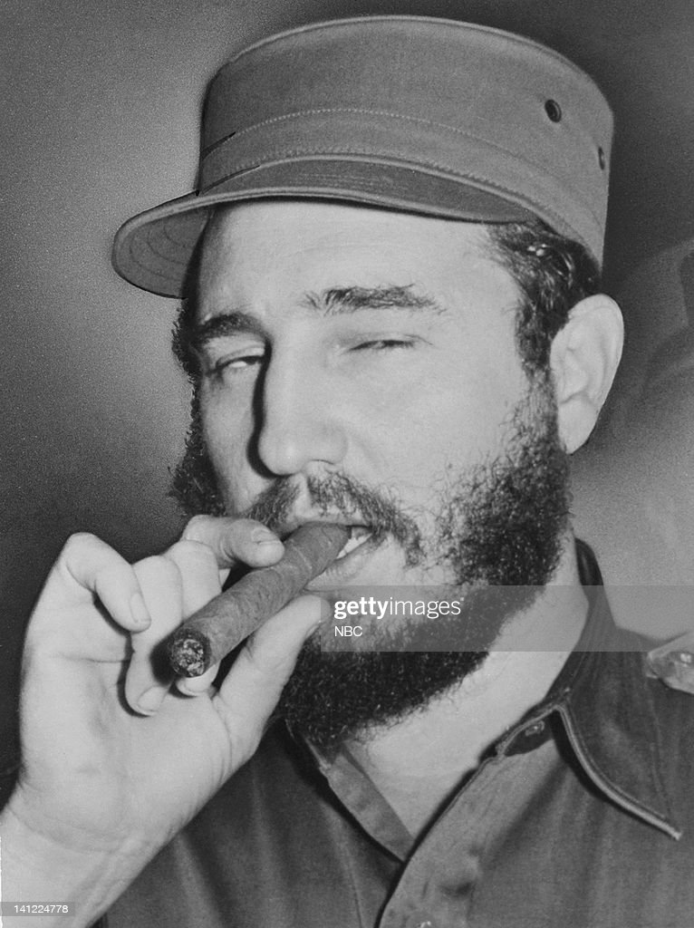 Prime Minister of Cuba <a gi-track='captionPersonalityLinkClicked' href=/galleries/search?phrase=Fidel+Castro&family=editorial&specificpeople=67210 ng-click='$event.stopPropagation()'>Fidel Castro</a> in 1960 -- Photo by: NBCU Photo Bank