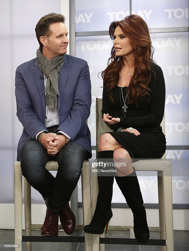 Producer Mark Burnett and Actress Roma Downey appear on NBC News' 'Today' show on February 28, 2013 --