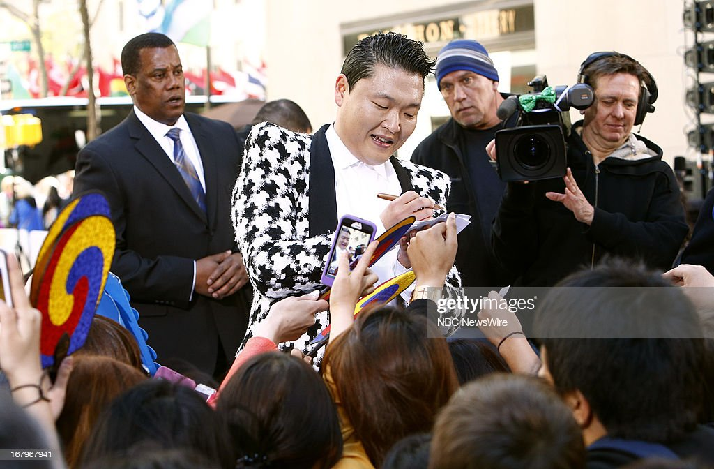 Psy appears on NBC News' 'Today' show --