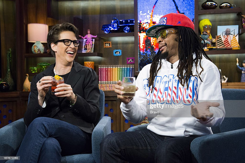 Rachel Maddow and Lil Jon -- Photo by: Charles Sykes/Bravo/NBCU Photo Bank via Getty Images