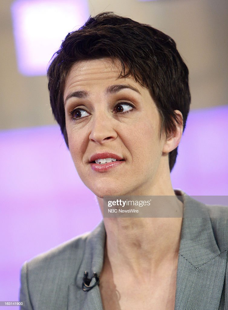 Rachel Maddow appears on NBC News' 'Today' show --