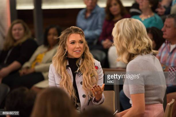 Rachel Platten and Megyn Kelly on Friday October 6 2017