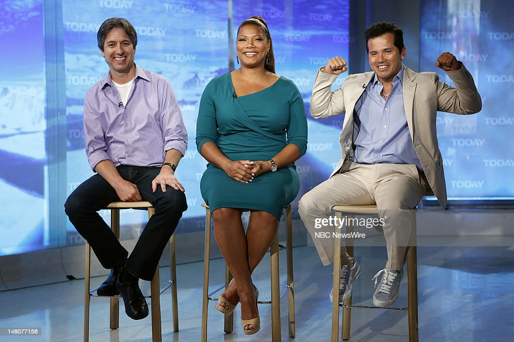 Ray Romano, Queen Latifah and John Leguizamo appear on NBC News' 'Today' show --