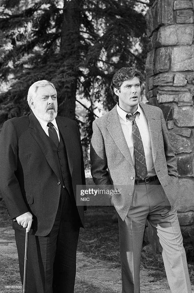 Raymond Burr as Perry Mason David Hasselhoff as Billy Travis
