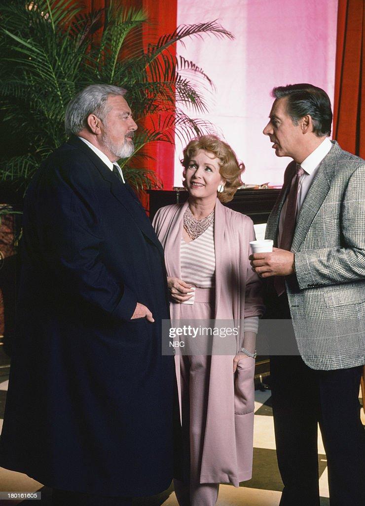 Raymond Burr as Perry Mason Debbie Reynolds as Amanda Cody Jerry Orbach as Blaine Counter