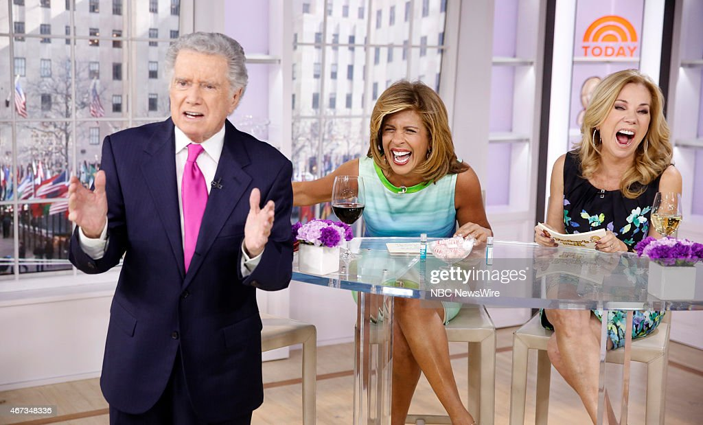 Nbc 39 s today with the cast of madmen getty images - Nbc today show kathie lee and hoda ...
