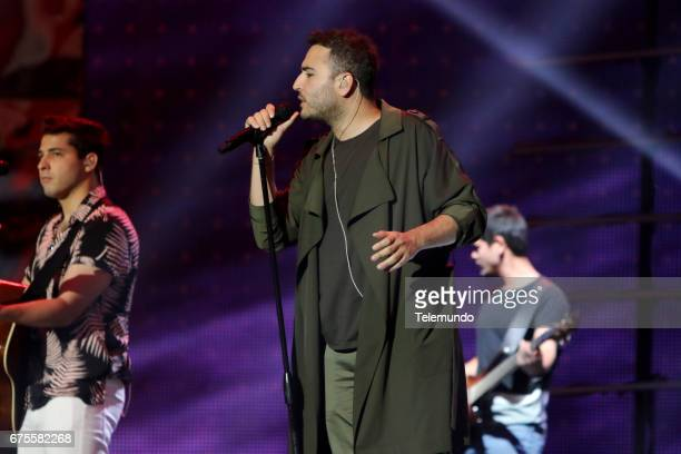 REIK during rehearsals at the Watsco Center in the University of Miami Coral Gables Florida on April 27 2017