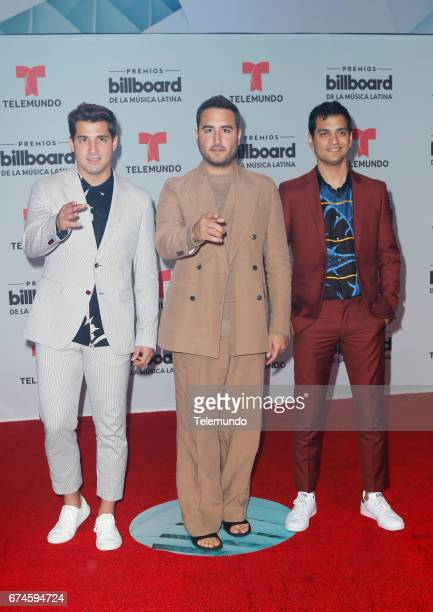 Reik on the Red Carpet at the Watsco Center in the University of Miami Coral Gables Florida on April 27 2017