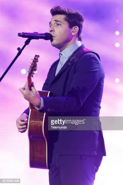 Reik performs during rehearsals at the Watsco Center in the University of Miami Coral Gables Florida on April 26 2017