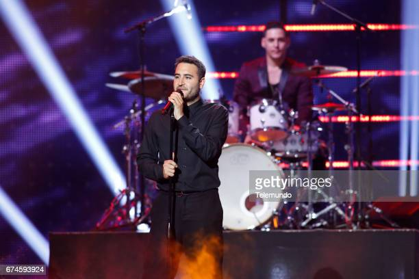 Reik performs on stage at the Watsco Center in the University of Miami Coral Gables Florida on April 27 2017