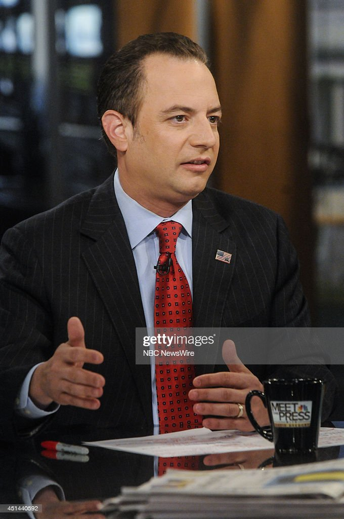 Reince Priebus, Chair, Republican National Committee, appears on 'Meet the Press' in Washington, D.C., Sunday, June 29, 2014.