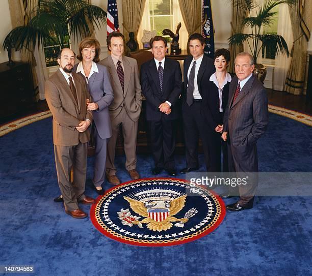 Richard Schiff as Toby Ziegler Allison Janney as Claudia Jean 'CJ' Cregg Bradley Whitford as Josh Lyman Martin Sheen as President Josiah 'Jed'...