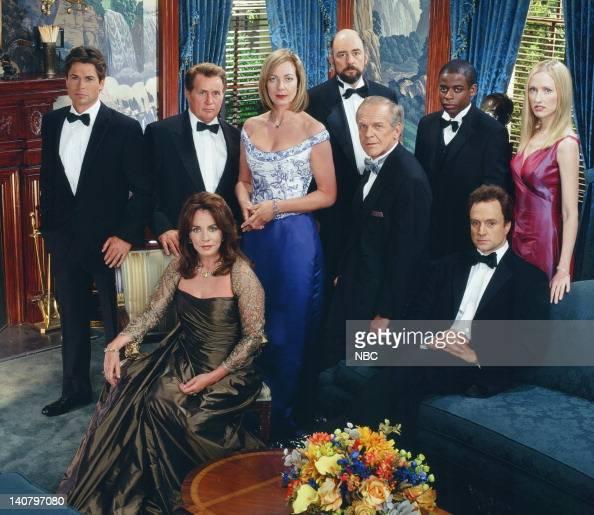 Rob Lowe as Sam Seaborn Martin Sheen as President Josiah 'Jed' Bartlet Stockard Channing as Abbey Bartlet Allison Janney as Claudia Jean 'CJ' Cregg...