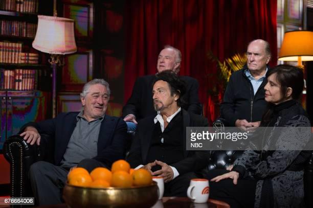 Robert De Niro Al Pacino James Caan Robert Duvall and Talia Shire on Saturday April 29 2017
