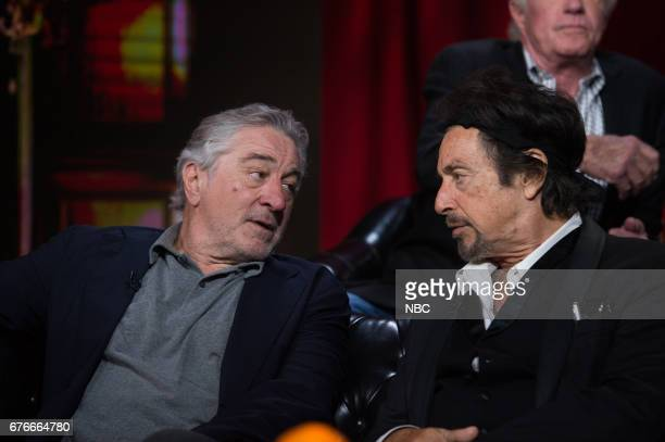 Robert De Niro and Al Pacino on Saturday April 29 2017