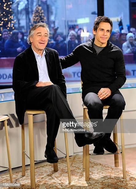 Robert De Niro and Ben Stiller appear on NBC News' 'Today' show