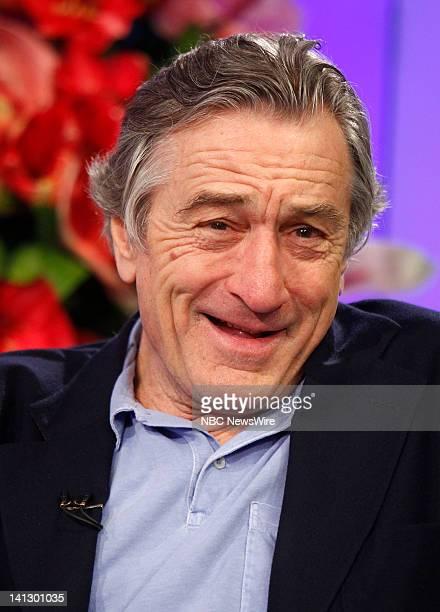 Robert De Niro appears on NBC News' 'Today' show