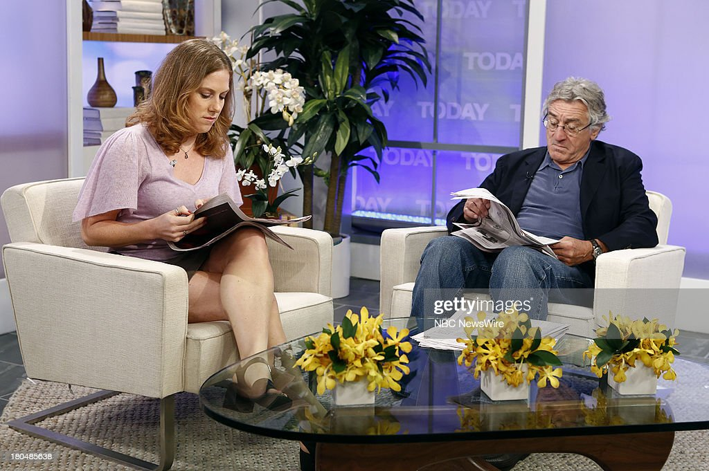 Robert De Niro appears on NBC News' 'Today' show --