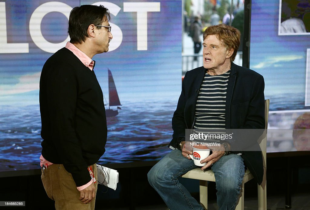 Robert Redford appears on NBC News' 'Today' show --