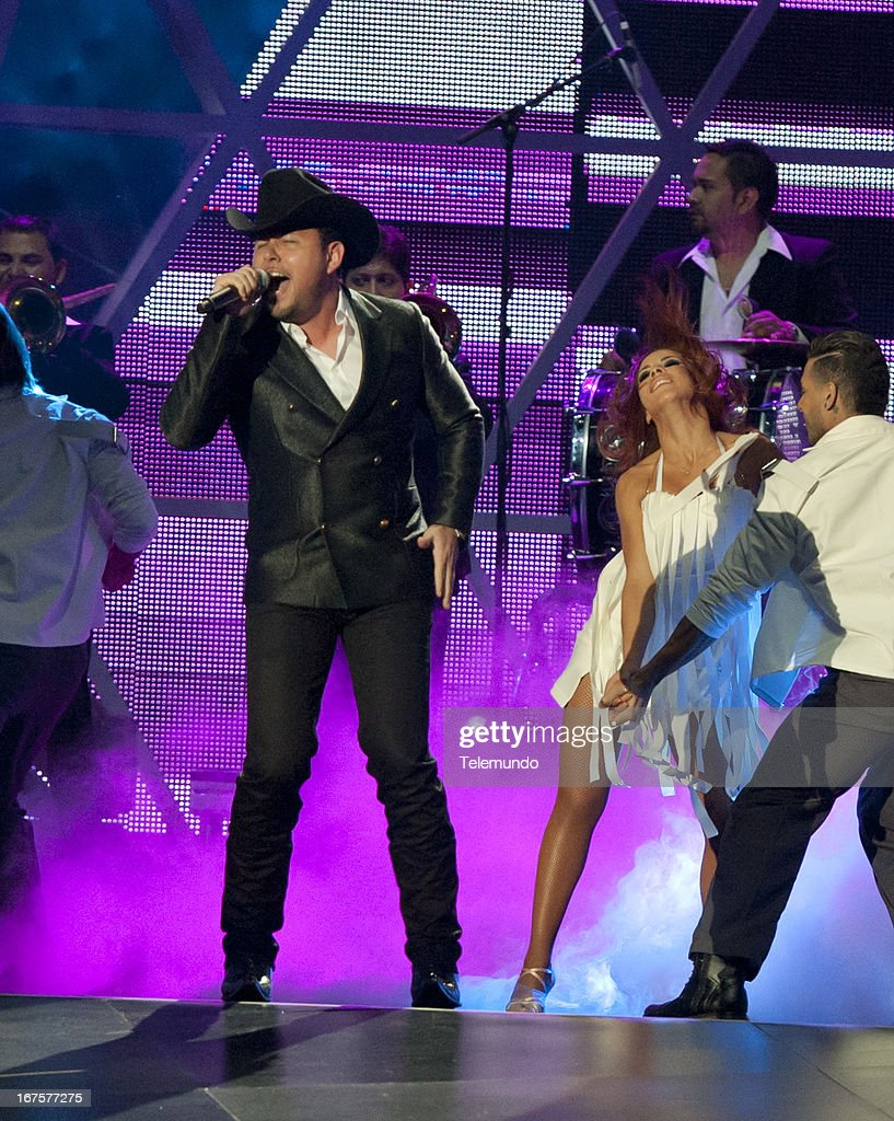Roberto Tapia preforms for the 2013 Billboard Latin Music Awards held at the BankUnited Center, University of Miami in Miami, Florida on April 25, 2013 --