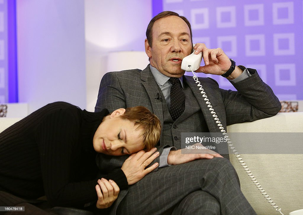 Robin Wright and Kevin Spacey appear on NBC News' 'Today' show --