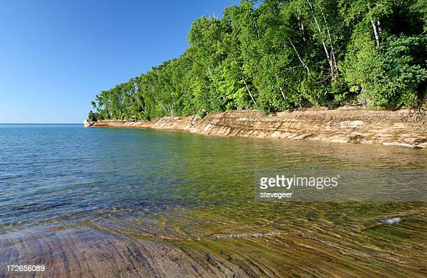 Pictured Rocks and Trees