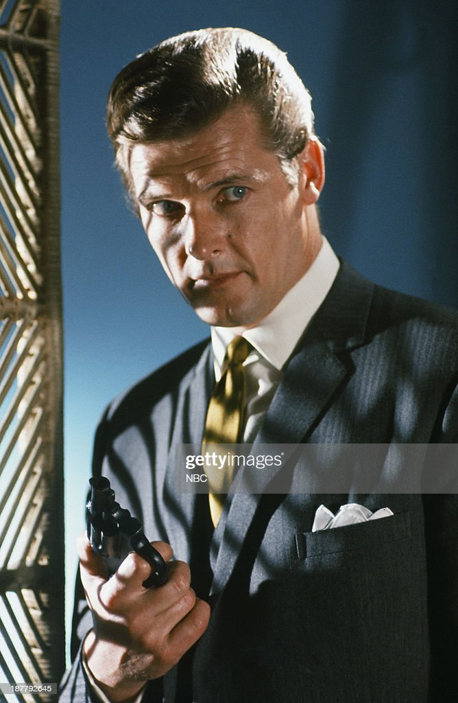 Roger Moore as Simon Templar --