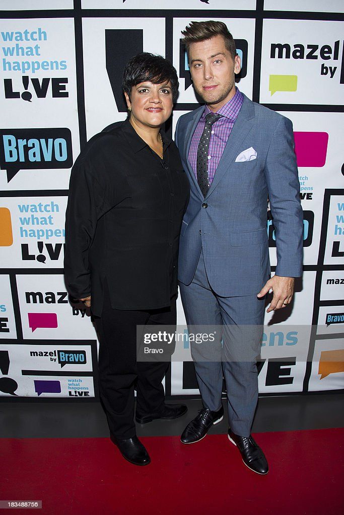 Rosie Pierri and Lance Bass -- Photo by: Charles Sykes/Bravo/NBCU Photo Bank via Getty Images