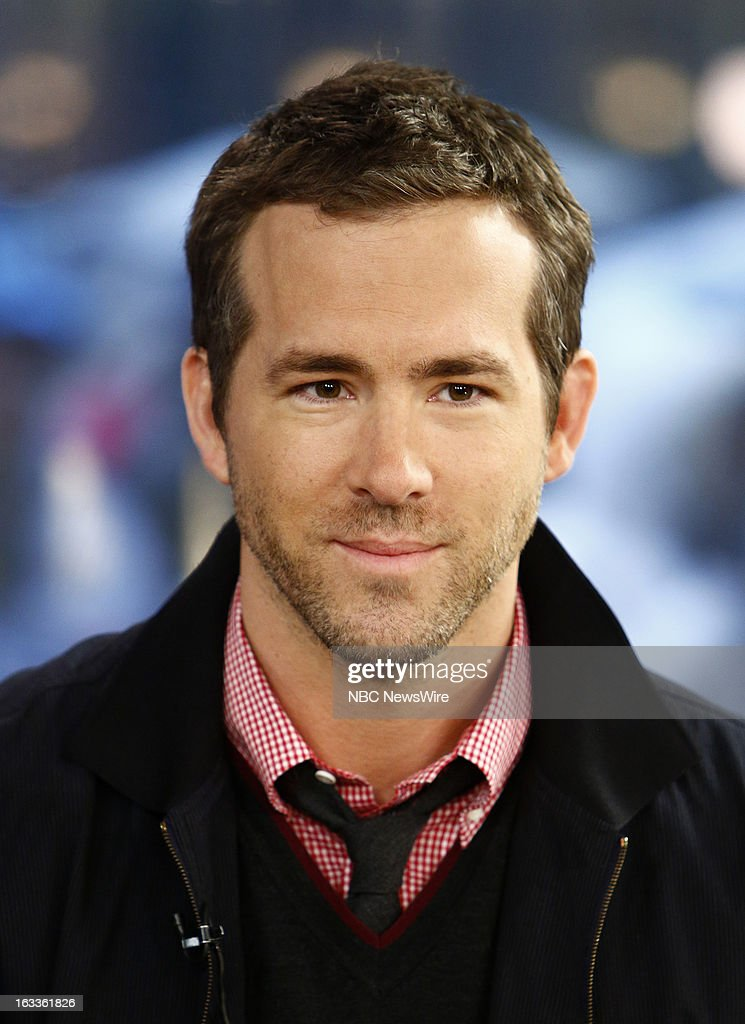 Ryan Reynolds appears on NBC News' 'Today' show --