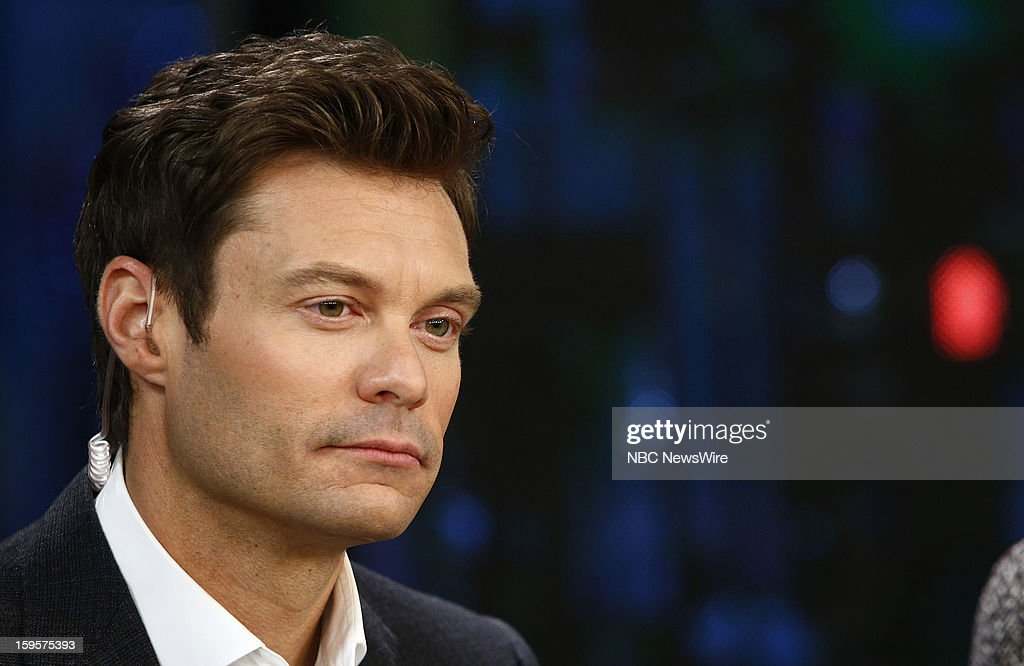 Ryan Seacrest appears on NBC News' 'Today' show --