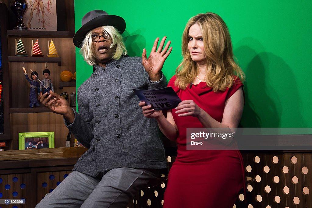 Samuel L. Jackson and Jennifer Jason Leigh --