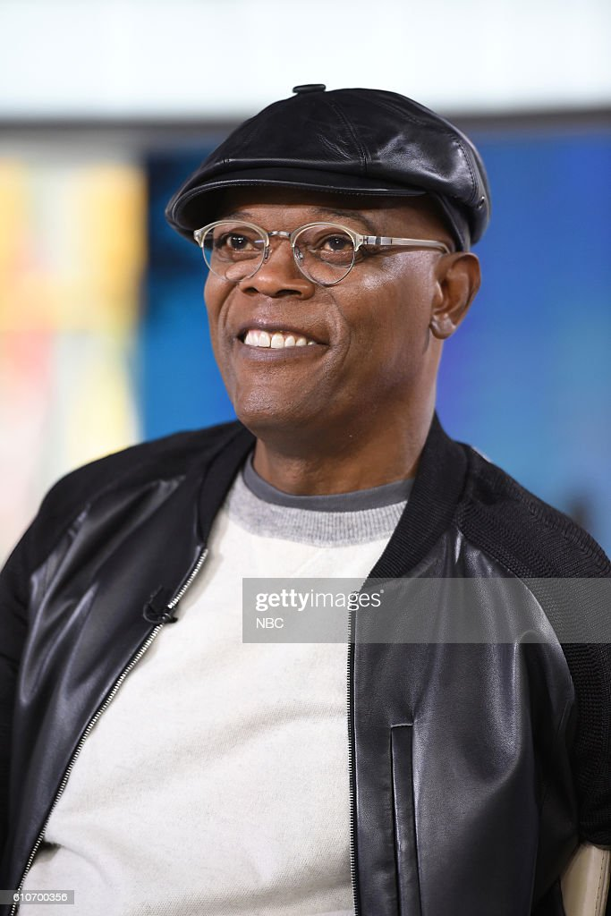 """NBC's """"Today"""" With guests Samuel L. Jackson, Mike Pence, Mandy Moore, Tom Hanks, Elizabeth Dole"""