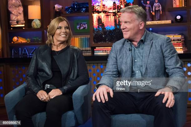 Sandy Yawn and Anthony Michael Hall