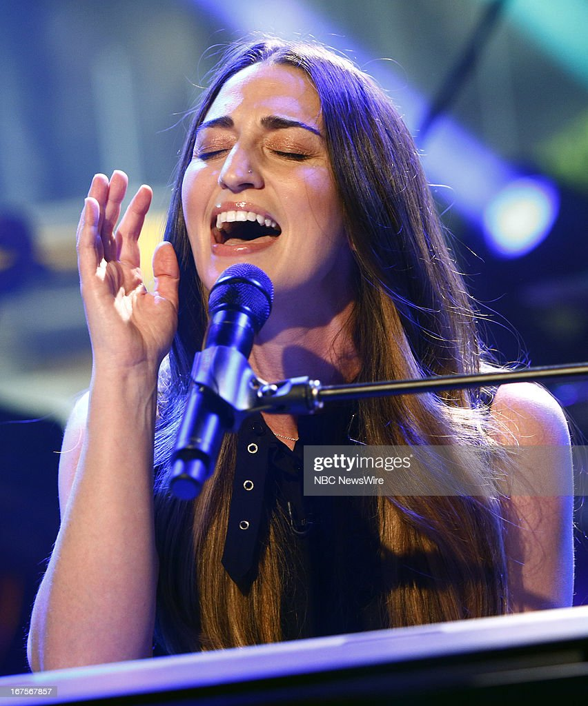 Sara Bareilles appears on NBC News' 'Today' show --