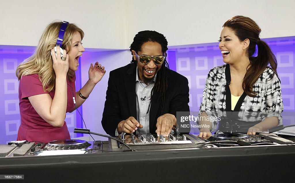 Sara Hianes, L'il Jon and Bobbie Thomas appear on NBC News' 'Today' show --
