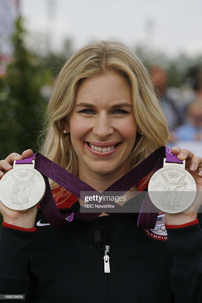 "NBC's ""Today"" reports from The 2012 London Olympics - Lolo Jones, Aly Raisman, Sally Pearson, Dawn Harper, Kellie Wells"