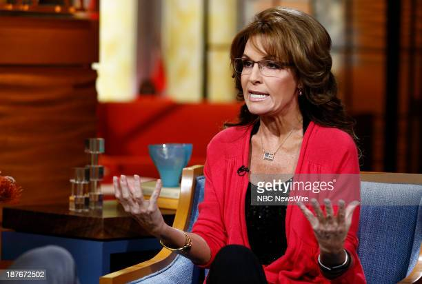 Sarah Palin appears on NBC News' 'Today' show