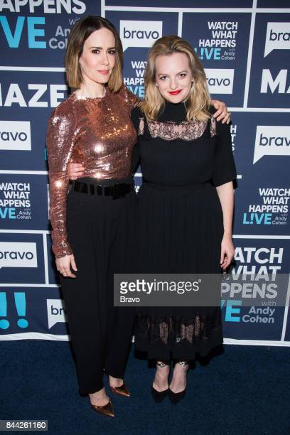 Sarah Paulson and Elisabeth Moss